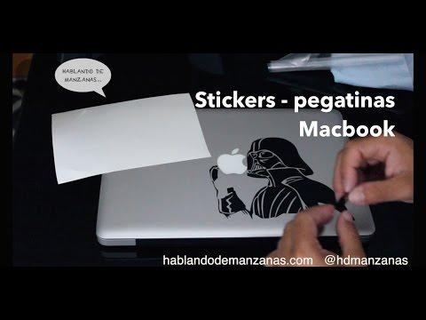 Sticker's y pegatinas para un ordenador Mac