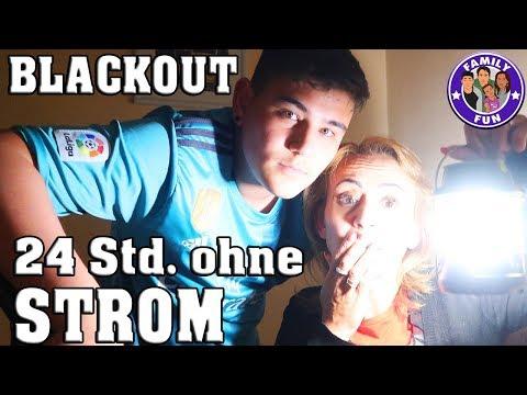 24 Stunden ohne Strom - BLACKOUT - wenn das Licht ausgeht | Family Fun