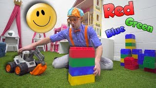 Learn Emotions with Blippi at the Play Place   Learn Colors and more!