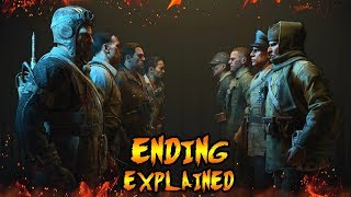Classified Ending Cutscene Explained! Classified Easter Egg Explained! Black Ops 4 Zombies Storyline