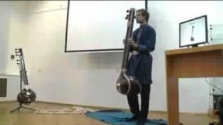 Авторская лекция о индийской музыке и мироустройстве
