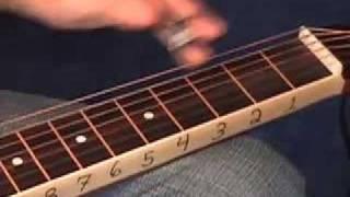 BEGINNER DOBRO (resonator guitar) LESSON - AMAZING GRACE