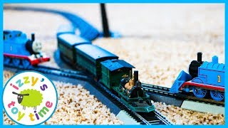 Thomas and Friends with JOHN BULL BACHMANN! Fun Toy Trains for Kids!