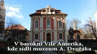 Obnovená krása fresek v Muzeu Antonína Dvořáka