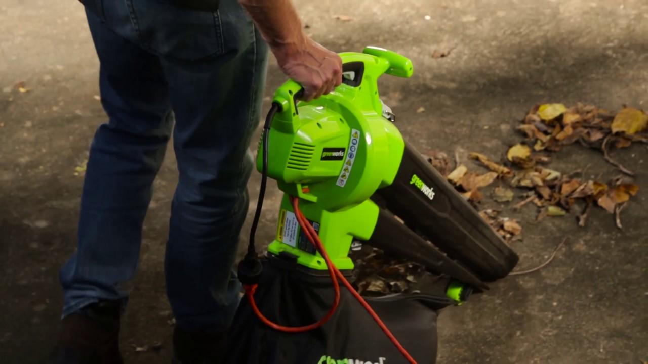 Souffleuse-aspirateur à feuilles Ultra 12 A