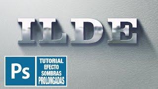 Tutorial Photoshop Editable Objetos Y Texto Con Sombras Largas (long Shadows)