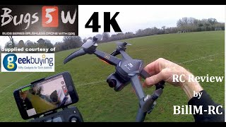 MJX Bugs 5W 4K Version Full review - 5G WIFI FPV GPS Quadcopter Drone