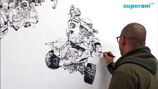 김정기 Kim Jung gi Drawing show in 포항