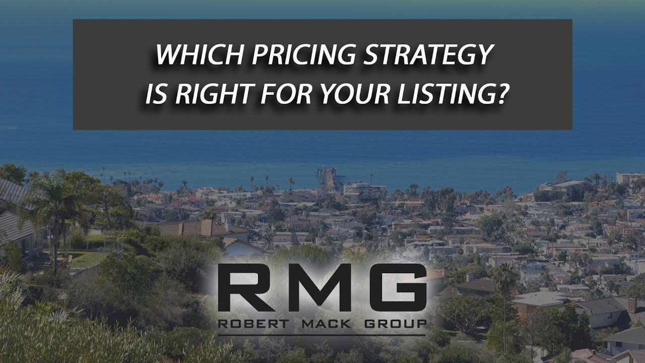 Which Pricing Strategy Is Right for Your Listing?