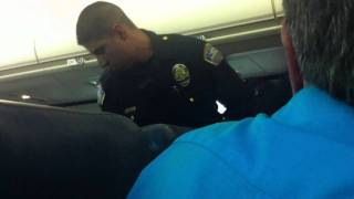 Drunk Minnesota man subdued and dragged off flight at LAX (Part 2)