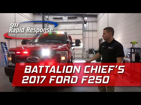 Battalions Chief's 2017 Ford F250 Super Duty | 911RR