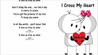 "I Cross My Heart༺💕༻ ThisL♥vesO4""Y❤U""❣"