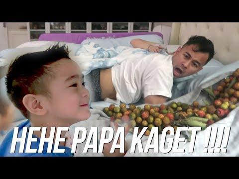 PRANK PAPA RAFFI - SEKELILING PAPA ADA RAMBUTAN !!!