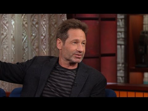 David Duchovny on the Colbert Show
