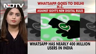 WhatsApp Sues Government, Says New Digital Rules Mean End To User Privacy