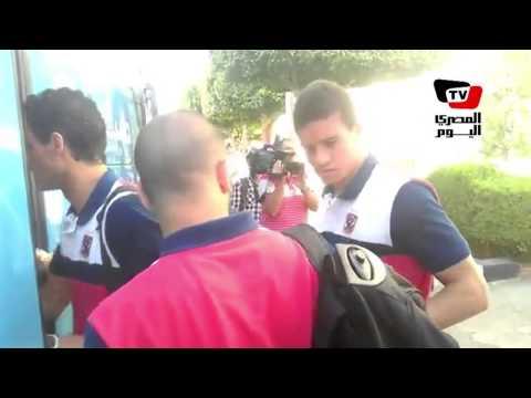 لاعبي الأهلي يتوجهون إلى استاد السويس لملاقاة النجم الساحلي