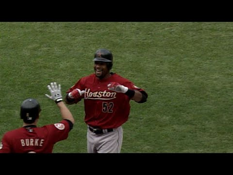 Charlton Jimerson ruins Cole Hamels' perfect game with his first MLB home run