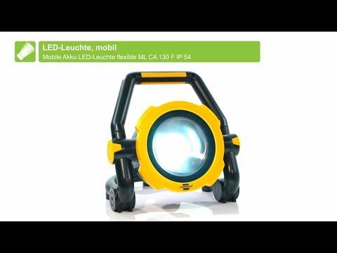 brennenstuhl® mobiler Akku LED Strahler IP54 20W/30W