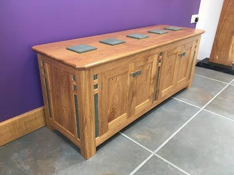 Wooden oak Sideboard Project!