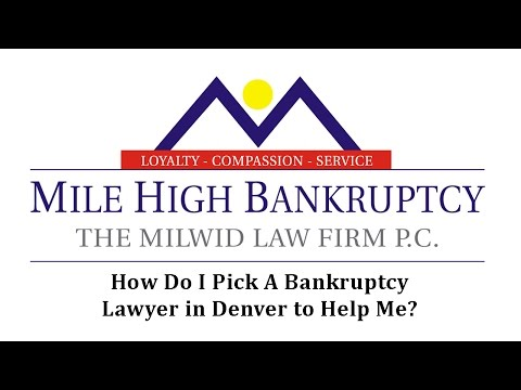 Denver Colorado Co Bankruptcy Lawyers File Chapter 7 Bankruptcy Attorney In Colorado Milehighbankruptcy Com