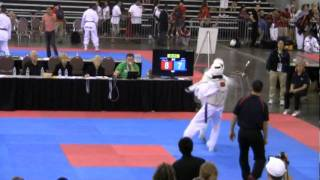 4 Point Jump Spinning Hook Kick For The Gold