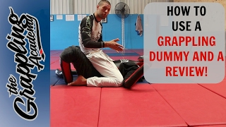 How to USE A GRAPPLING DUMMY plus a REVIEW!