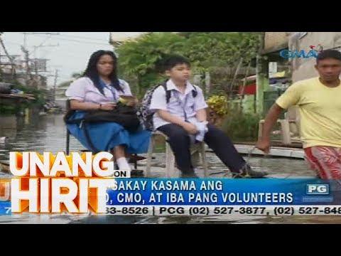 [GMA]  Unang Hirit: Libreng Sakay at Tubig sa Brgy. Dampalit, Malabon | Serbisyong Totoo