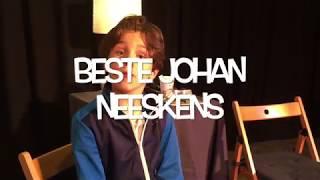 Tienjarige Spreekt Johan Neeskens Toe