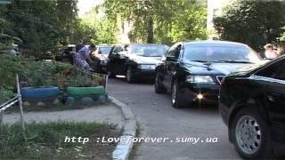 Свадебный  кортеж Тойота Камри белая по Сумам, Лебедин, Тростянец и тд. от компании TAXI SUMY - видео 2