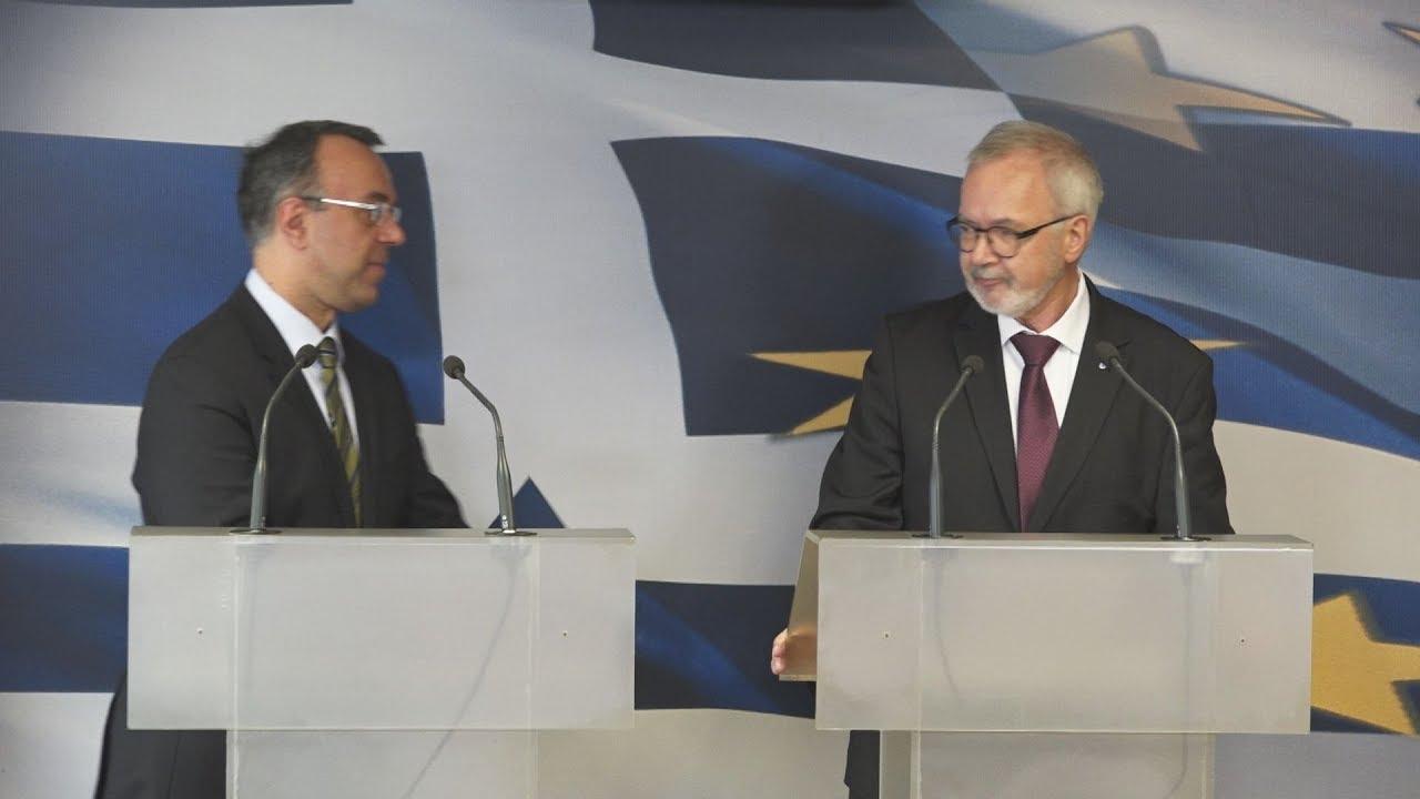 Τρεις δανειακές συμβάσεις ύψους 300 εκατ. ευρώ συνήψε με το Υπουργείο Οικονομικών η ΕΤΕπ