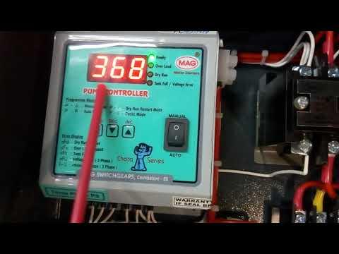 Three Phase Pump Controller Panel Chota Series