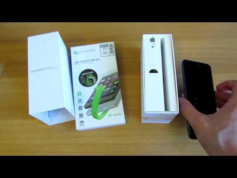 Video over Huawei P8 Lite (2017)