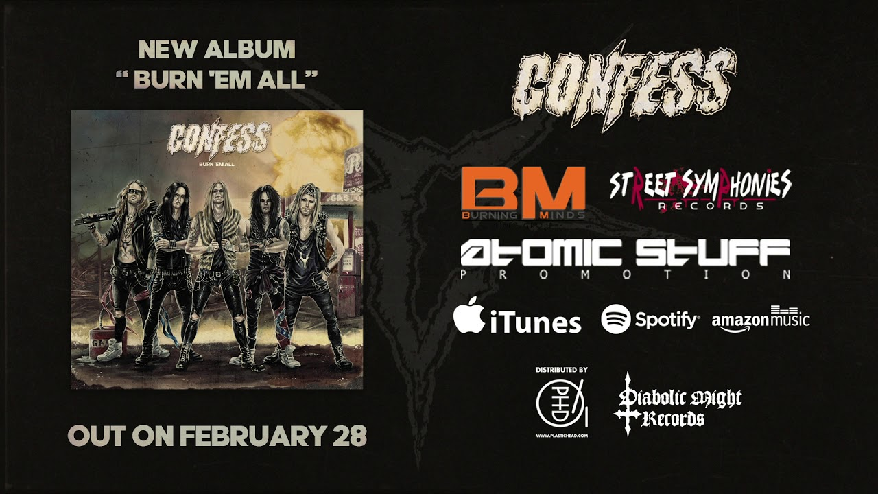 CONFESS - Burn em all (teaser)