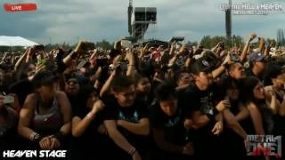 Amon Amarth The pursuit of vikings (Mejor audio) Hell and heaven 2016