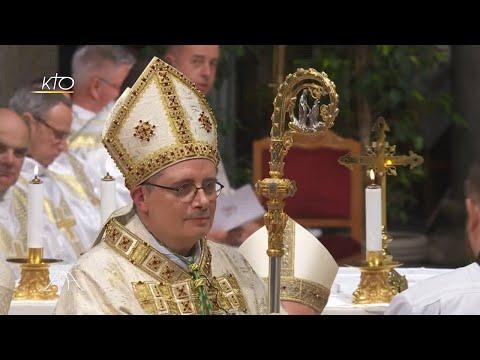 Monaco : l'ordination épiscopale de son nouvel archevêque