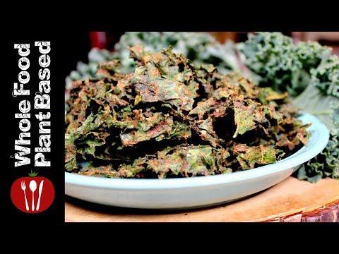 Plant Based Vegan Kale Chips (2018) Whole Food Plant Based Recipes
