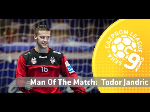 Man of the match: Todor Jandric (Metaloplastika vs Telekom Veszprem)