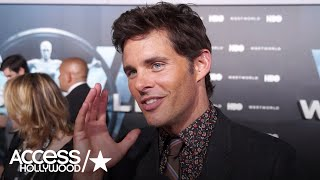 James Marsden On Playing Teddy In 'Westworld' | Access Hollywood