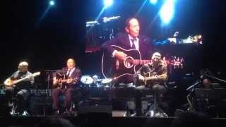"Paul Anka ""Doesn't Matter"" ft. Brittany Cotto (violin) Prague 22/7/14"