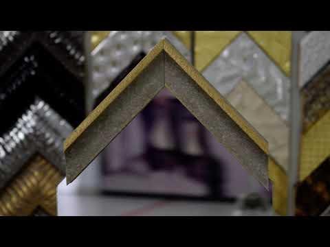 """Зеркало в пластиковой раме """"Флорайн""""  z-12162"""