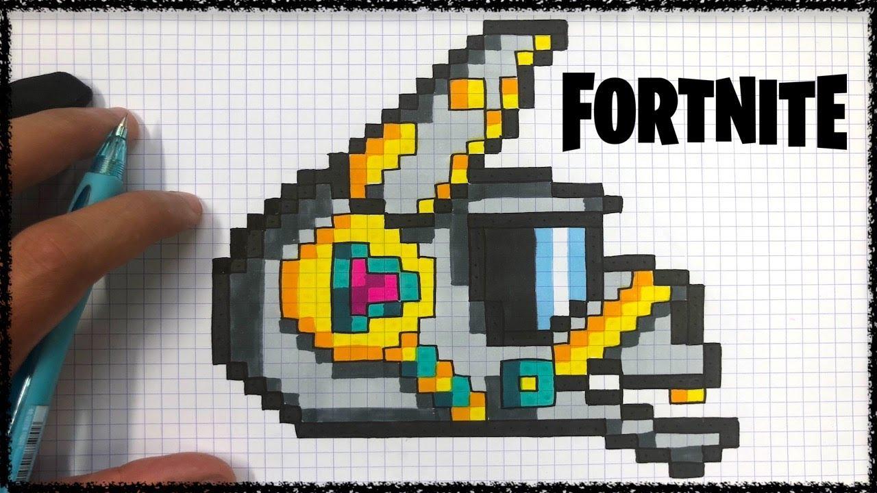 Tuto Pixel Art Dj Lama Fortnite Youtube