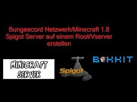 Download Bungeecord NetzwerkMinecraft Server Auf RootServer - Minecraft server erstellen 1 8 download