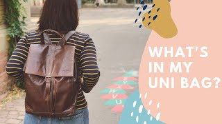What's In My Bag // Uni & Labor Edition