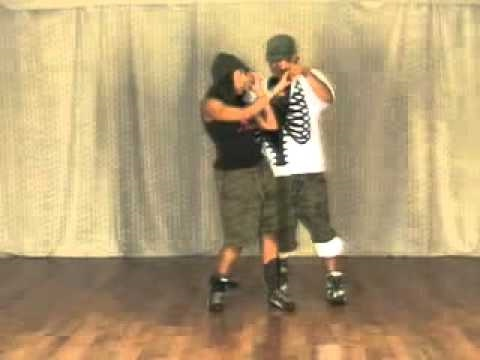 Kick Step Body Roll – Hip Hop Dance Lesson Eulanda Shead Kent Jr #1011