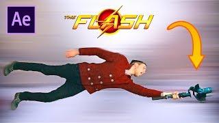 ФЛЭШ (The Flash) В РЕАЛЬНОЙ ЖИЗНИ!!! | Эффект флеш After Effects