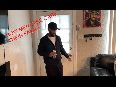 How men take care their family (Parody)