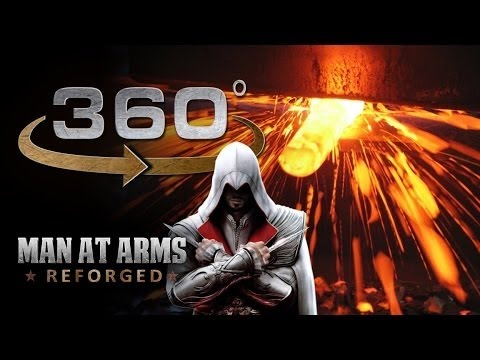 Forging the Sword of Altair In 360 - Assassin'S Creed
