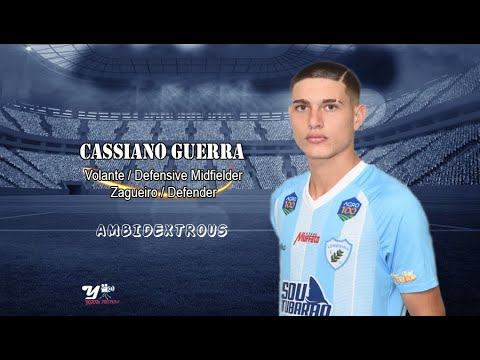 Cassiano Guerra - Volante/Zagueiro
