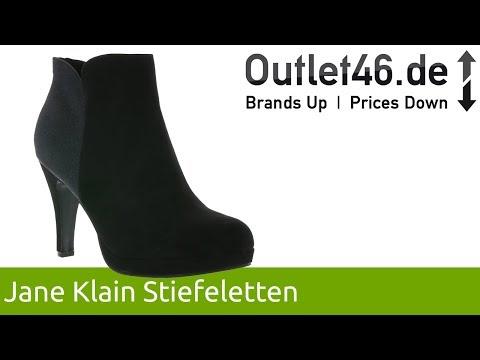 Jane Klain Stiefeletten l Der elegante Schuh in Velourslederoptik l 360° Video l Outlet46.de