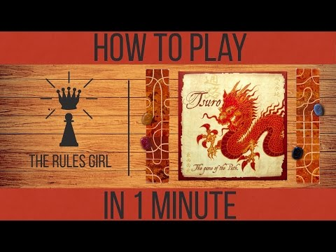 How to Play Tsuro in 1 Minute - The Rules Girl